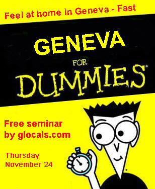 proudly presents geneva for dummies seminar geneva experts share tips ...